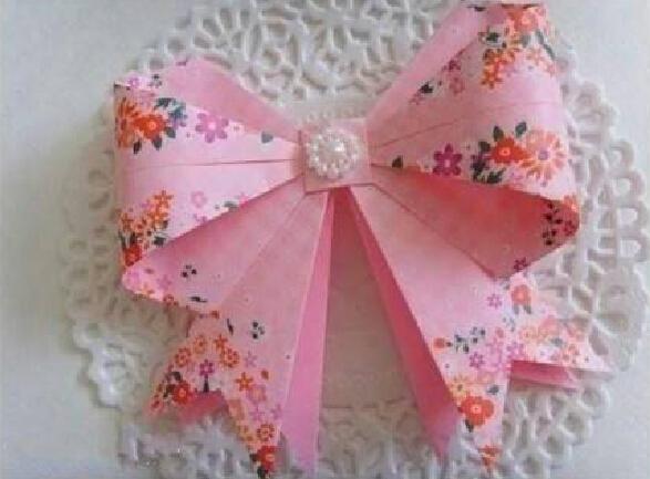 折纸蝴蝶结