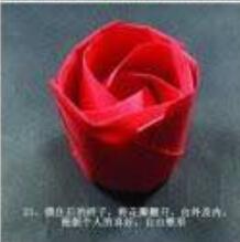玫瑰花折纸