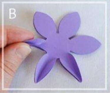 折纸花的折