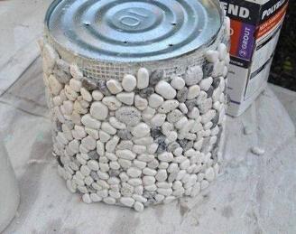 铁桶废物利用