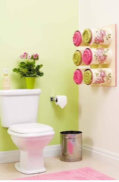 奶粉罐、铁桶铁罐做精美墙上储物装备