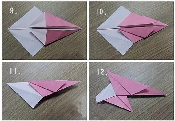 手工制作之折纸松鼠的方法图解