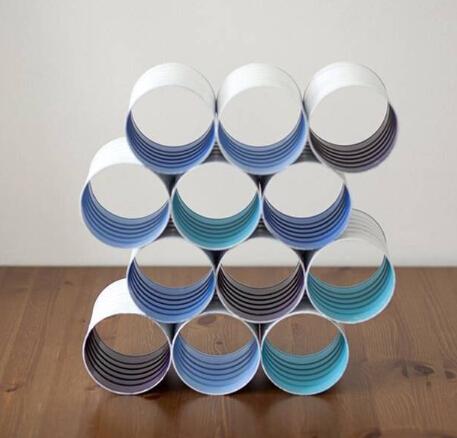奶粉桶废物改造