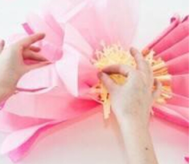 如何做出一朵牡丹花