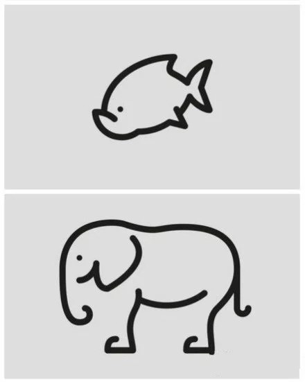 各种动物简笔画