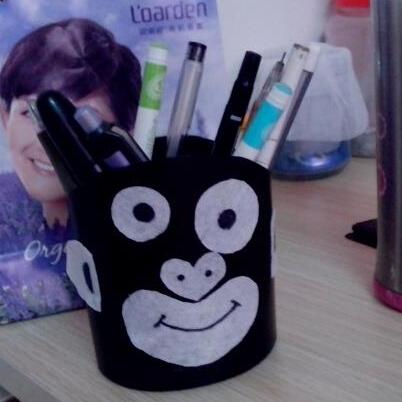 创意改造洗发水瓶——个性笔筒、肥皂盒