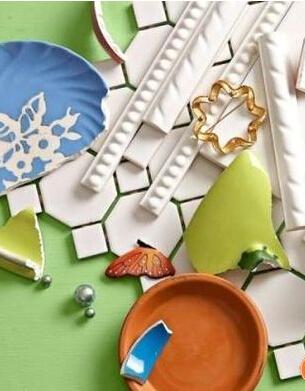 家装废弃材料整合做一个别样马赛克肥皂盒