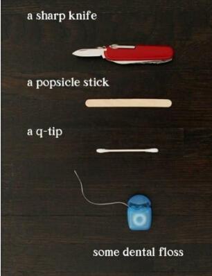 简单科技小制作——迷你弓箭