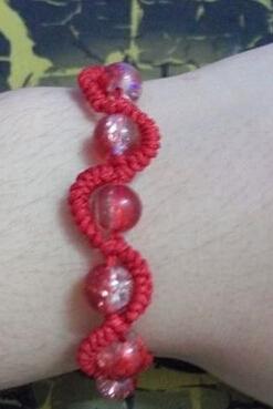 红绳手链编法图解