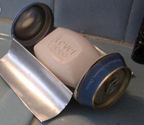 易拉罐自制肥皂盒