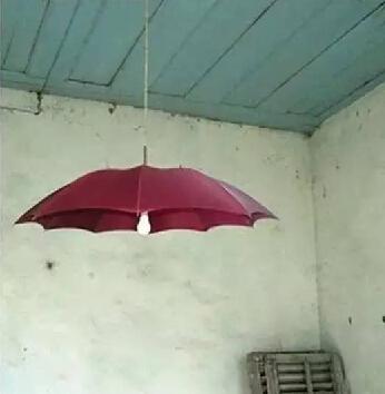 雨伞废物利用