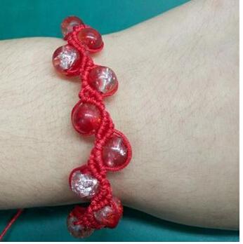 红绳手绳编法