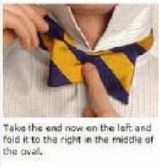 如何用领带打成领结