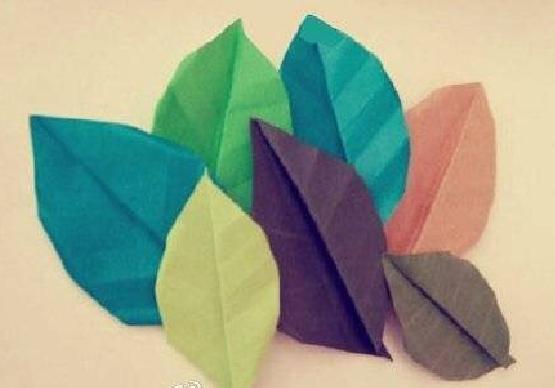 叶子的折法