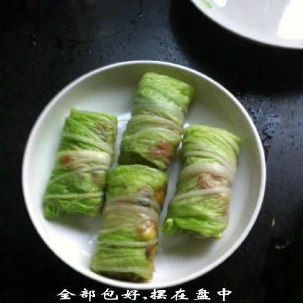 白菜创意菜