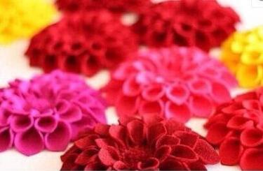 绣球花的布艺手工制作