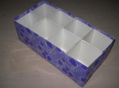 牛奶盒做衣柜收纳盒