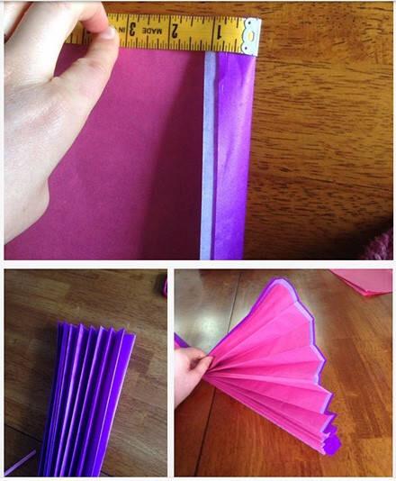 手工折纸花