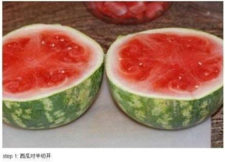 你这样吃过西瓜吗?——超方便的吃西瓜方法!
