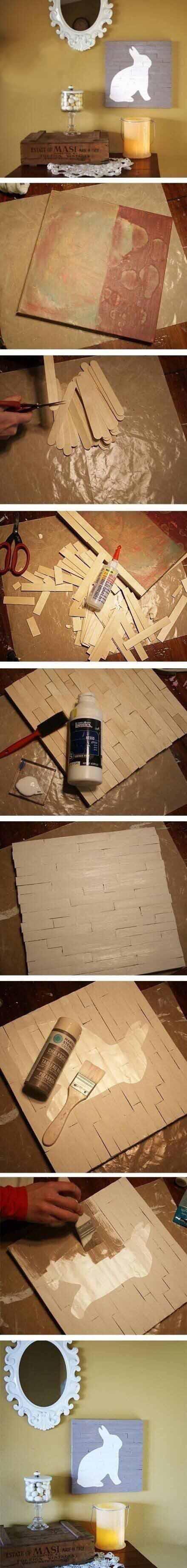 高逼格墙画DIY