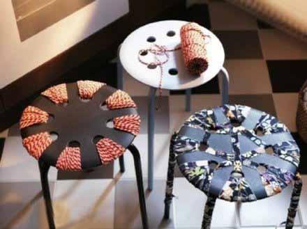 你有想过这样装饰普通的桌椅吗?